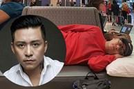Bị chỉ trích dáng ngủ tại sân bay, Tuấn Hưng gay gắt phản pháo: 'Đã đi nước ngoài hay đi Mỹ chưa?'