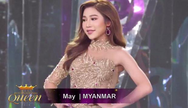 Bán kết Hoa hậu Chuyển giới: Hoài Sa biến mình thành tâm điểm khi chọn sắc đỏ, khoe hình thể nuột nà cùng vòng 1 nở nang!-2