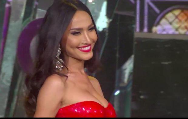 Bán kết Hoa hậu Chuyển giới: Hoài Sa biến mình thành tâm điểm khi chọn sắc đỏ, khoe hình thể nuột nà cùng vòng 1 nở nang!-1