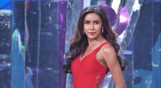 Bán kết Hoa hậu Chuyển giới: Hoài Sa biến mình thành tâm điểm khi chọn sắc đỏ, khoe hình thể nuột nà cùng vòng 1 nở nang!-6