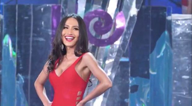 Bán kết Hoa hậu Chuyển giới: Hoài Sa biến mình thành tâm điểm khi chọn sắc đỏ, khoe hình thể nuột nà cùng vòng 1 nở nang!-8