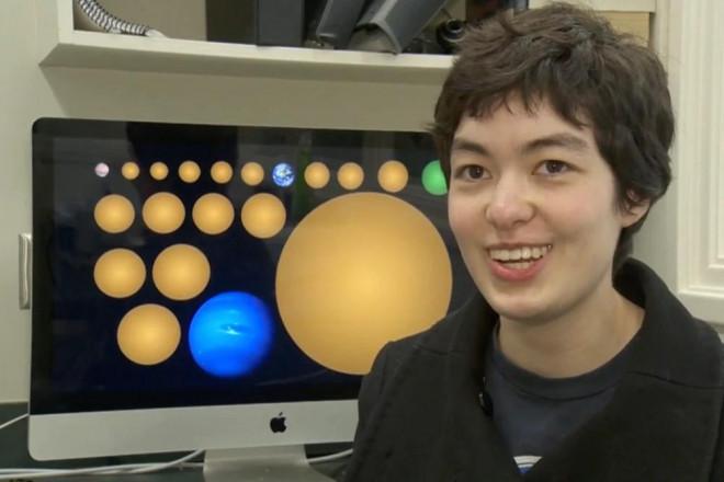 Nữ sinh khám phá ra 17 hành tinh mới-1