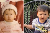 """Á hậu Tú Anh so sánh ảnh hồi bé của mình và con trai, dưới bình luận là hàng loạt cảm thán vì """"giống nhau như 2 giọt nước"""""""