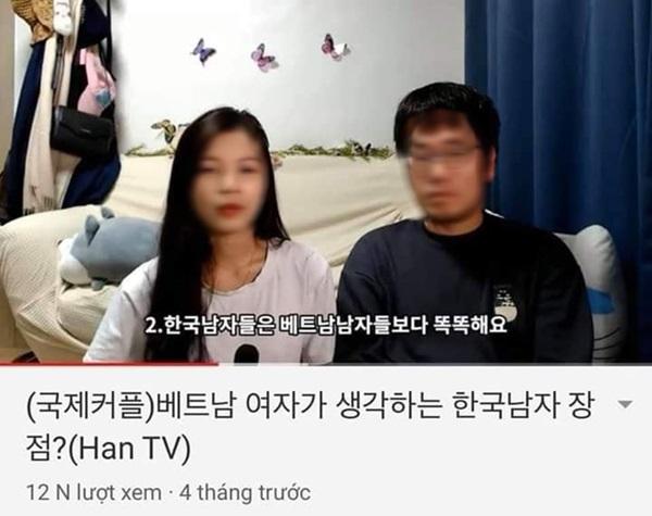 Cặp vợ Việt chồng Hàn gây phẫn nộ khi công khai chê người Việt Nam trên Youtube: Phụ nữ dễ ngoại tình, đàn ông không thông minh?-2