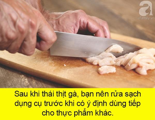5 sai lầm chế biến thịt gà sống vừa gây bực lại còn rước bệnh vào thân-4