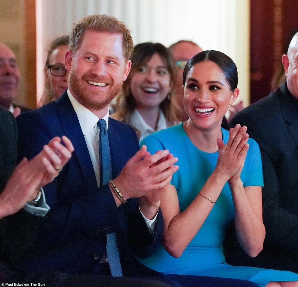 Meghan đẹp thật nhưng nhìn kỹ mới thấy makeup sai sai, lộ rõ tham vọng tấn công Hollywood sau khi rời bỏ Hoàng gia Anh-1