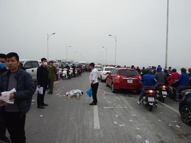 Danh tính nam thanh niên tử vong lúc sáng sớm tại đoạn đường đang sửa trên cầu Vĩnh Tuy-2