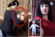 Bé 2 tuổi làm rơi vụn bánh ra sàn, mẹ tức giận nhét cả miếng bánh mì vào miệng khiến con chết ngạt, video dựng lại hiện trường gây phẫn nộ