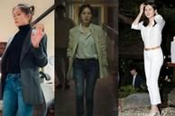 Dù quần jeans dáng ôm có hot hay không, Son Ye Jin vẫn chẳng ngán diện từ phim đến đời thực