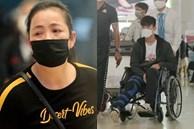 Mẹ Duy Mạnh bật khóc khi tiễn con trai đi nước ngoài phẫu thuật, Đình Trọng quay lại động viên