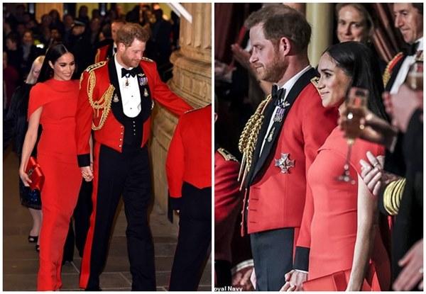 Meghan Markle tỏa sáng như nữ hoàng trong sự kiện mới nhất nhưng gương mặt buồn bã của Hoàng tử Harry mới đáng chú ý-7
