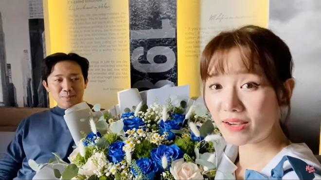 Bị Hari Won đòi quà 8/3, Trấn Thành nói: Anh làm chồng là món quà lớn nhất của em rồi-3