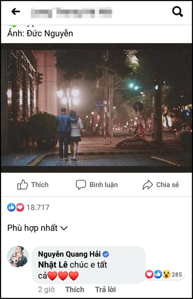 Dân tình tám chuyện bắt gặp Quang Hải đi uống nước với Nhật Lê ngày 8/3, Hưng Harry không hay biết gì vẫn một lòng thả tim cho bạn gái cũ-3