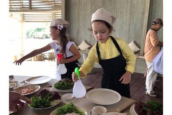 Con gái thiên thần của Diva Hồng Nhung làm bánh tặng mẹ, thành quả đẹp lạ gây ngạc nhiên-20