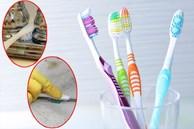 Đừng vứt bàn chải đánh răng cũ, chúng làm sạch được những chỗ khó chùi rửa nhất trong nhà