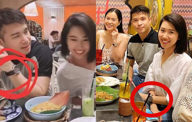 Thúy Ngân và Trương Thế Vinh bị soi đeo đồ đôi, netizen xôn xao: Phủ nhận hẹn hò có khi là một lời nói dối?-1