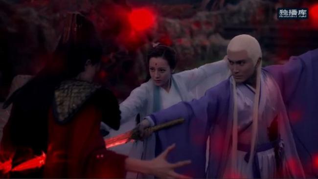 Tam sinh tam thế Chẩm thượng thư: Cao Vỹ Quang - Địch Lệ Nhiệt Ba nằm bất động với toàn thân đầy máu-2