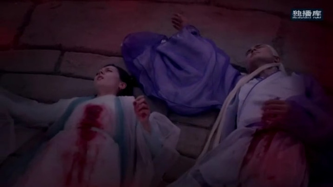 Tam sinh tam thế Chẩm thượng thư: Cao Vỹ Quang - Địch Lệ Nhiệt Ba nằm bất động với toàn thân đầy máu-9