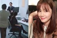 'Bằng chứng thép 4' trên TVB: Xóa cảnh của Á hậu Hồng Kông giật chồng nhưng lại để quên đôi giày cao gót