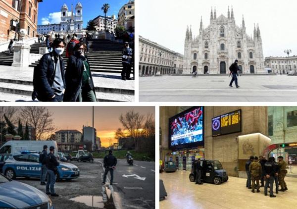 Italy sau lệnh phong tỏa: Cuộc sống chững lại, người dân cảm thấy sốc nhưng du khách vẫn muốn trải nghiệm khung cảnh im ắng lạ thường-11