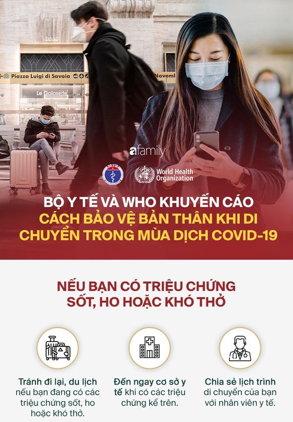 Di chuyển trong mùa Covid-19: Hãy thực hiện nghiêm túc những nguyên tắc quan trọng mà Bộ Y tế khuyến cáo để tránh nhiễm bệnh-2