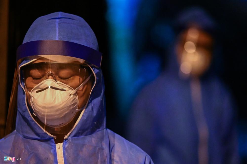 Phong tỏa, khử khuẩn nơi ở của ca thứ 39 nhiễm Covid-19-4