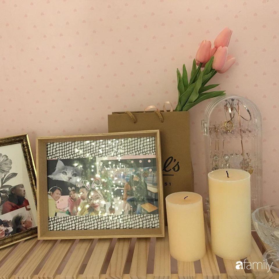 Từ căn phòng trọ cũ kỹ, cô gái trẻ người Việt tự sửa sang, cải tạo thành căn phòng đẹp lung linh không góc chết-11