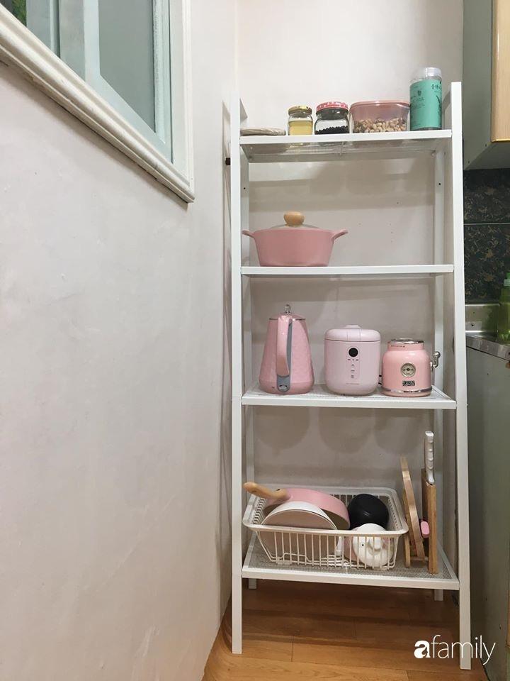 Từ căn phòng trọ cũ kỹ, cô gái trẻ người Việt tự sửa sang, cải tạo thành căn phòng đẹp lung linh không góc chết-23