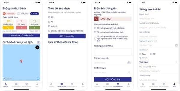 Ứng dụng NCOVI khai báo y tế toàn dân chính thức có mặt trên iOS-3