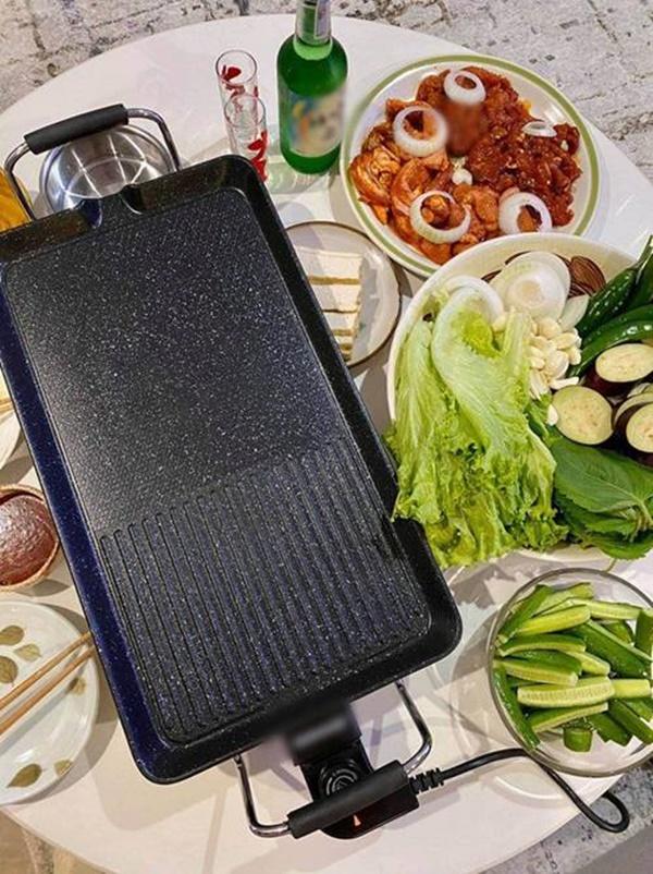 Kỳ Duyên và người tình đi siêu thị, chăm chỉ nấu ăn mùa dịch: Fan kêu khéo phải giảm cân-6