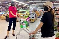 Kỳ Duyên và 'người tình' đi siêu thị, chăm chỉ nấu ăn mùa dịch: Fan kêu khéo phải giảm cân