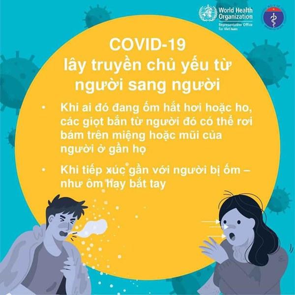 Bộ Y tế khuyến cáo những đồ vật dễ bị virus bám vào và 5 cách để phòng tránh lây nhiễm Covid-19-1
