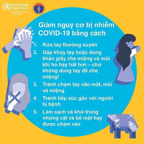 Bộ Y tế khuyến cáo những đồ vật dễ bị virus bám vào và 5 cách để phòng tránh lây nhiễm Covid-19-3