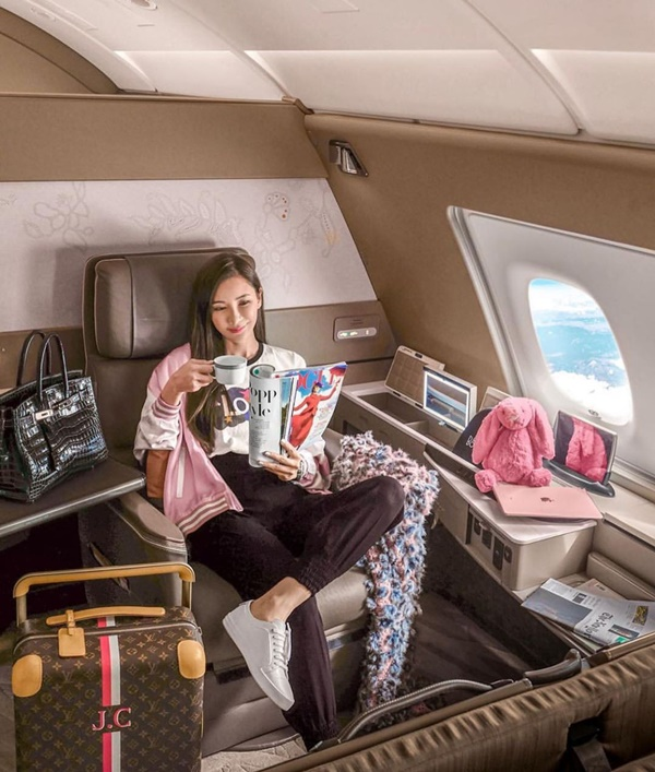 Sở thích dùng máy bay riêng, ở phòng đặc biệt khi du lịch của rich kid-8