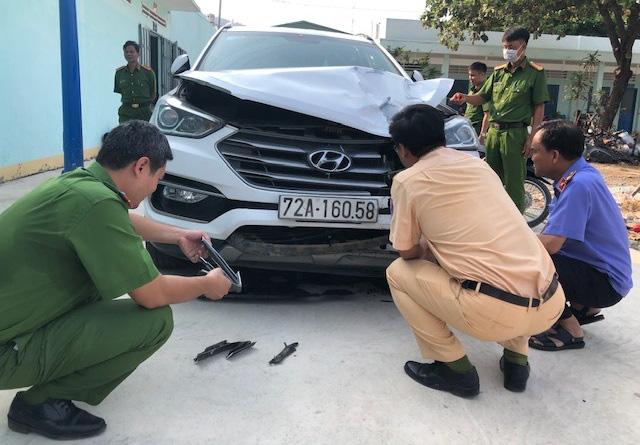 Đại úy công an phường ở Vũng Tàu bị tài xế phóng ô tô 100km/h tông trúng đã hy sinh-2
