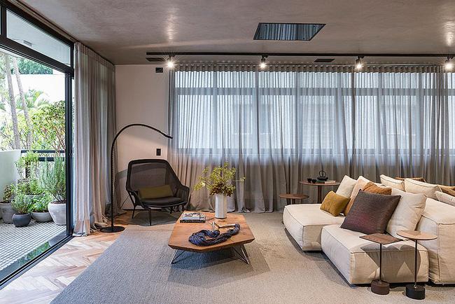 Căn hộ bê tông đẹp không thể rời mắt với phong cách thiết kế đương đại-3