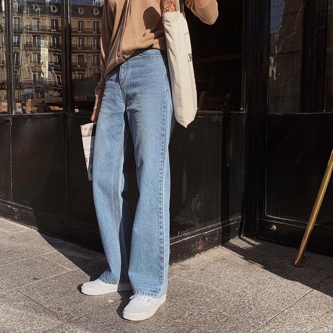 Mãi đến khi 30 tuổi, tôi mới biết đây là 4 dáng quần jeans mà người đùi to như tôi có thể mặc đẹp-4