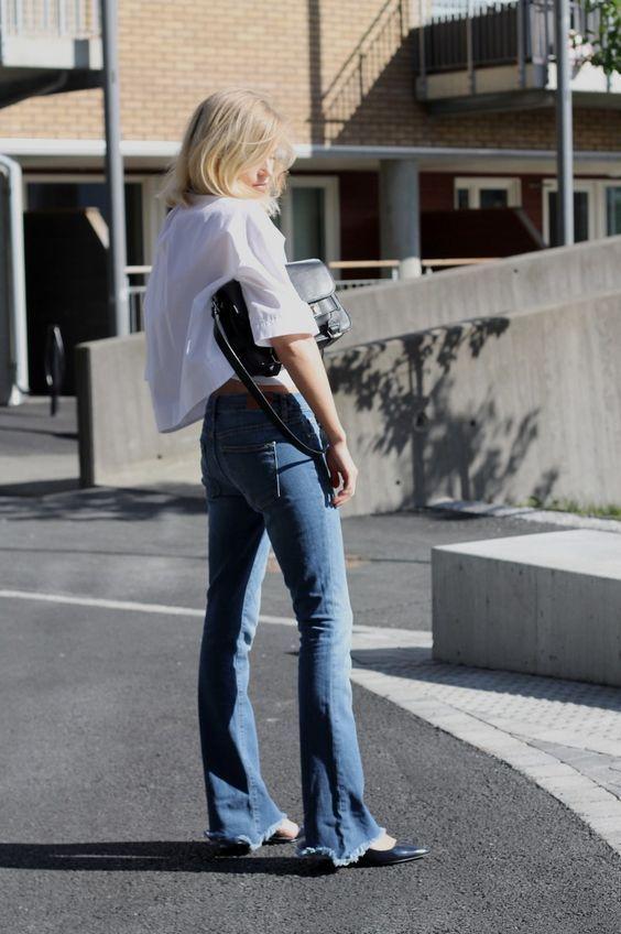 Mãi đến khi 30 tuổi, tôi mới biết đây là 4 dáng quần jeans mà người đùi to như tôi có thể mặc đẹp-12