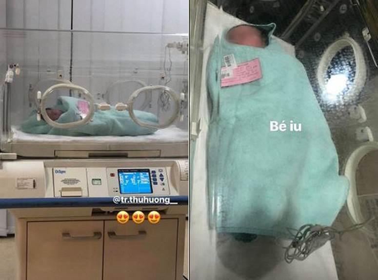 Hé lộ hình ảnh hiếm hoi về con gái mới sinh của cô dâu đeo 200 cây vàng ở Nam Định-2