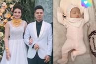 Hé lộ hình ảnh hiếm hoi về con gái mới sinh của cô dâu đeo 200 cây vàng ở Nam Định