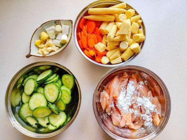 Gà xào rau củ - đủ chất ngon cơm cho bữa tối bận rộn-1