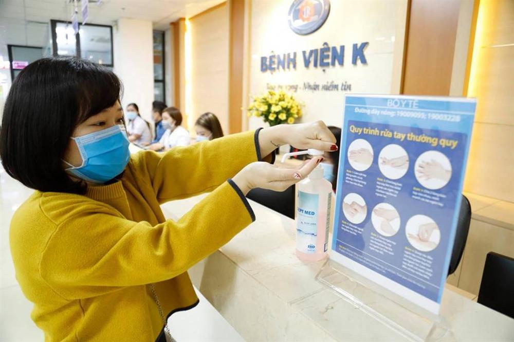 Sửng sốt với vũ điệu rửa tay Ghen Cô Vy của Bệnh viện K-3