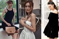 Style của Lan Ngọc rất thiếu những items 'kín cổng cao tường', thay vào đó là thật nhiều đồ hở vai để trông sexy mà tinh tế