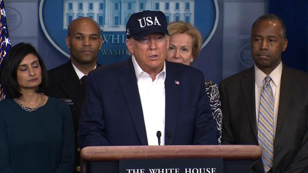 Tổng thống Trump tuyên bố đã làm xét nghiệm virus corona-1