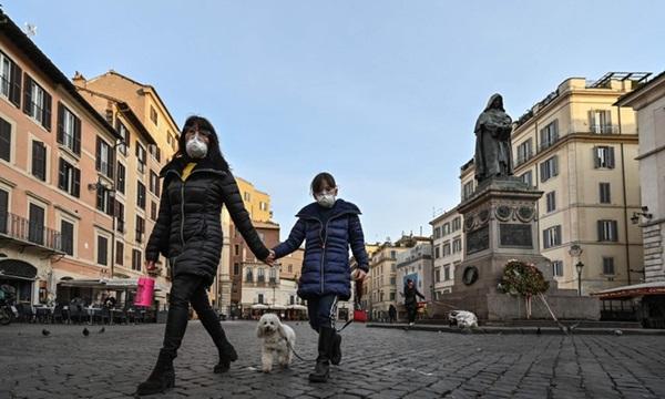 Số ca nhiễm mới tại Italy tăng gần 3.500 trong một ngày-1