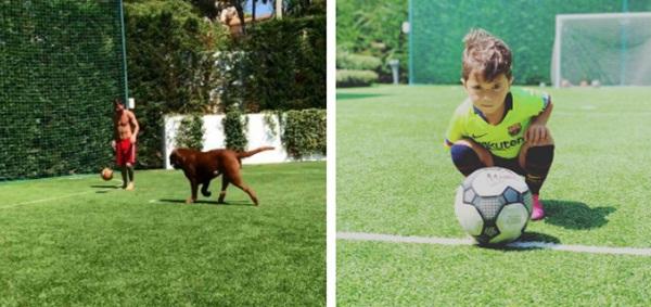 Lo ngại dịch Covid-19, Messi cùng gia đình tự cách ly trong biệt thự 200 tỷ, có sân bóng ở ngay trong nhà-3