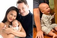 Con trai của chồng cũ Hồng Nhung và vợ đại gia Myanmar không chỉ giống bố như đúc mà còn kháu khỉnh đáng yêu thế này