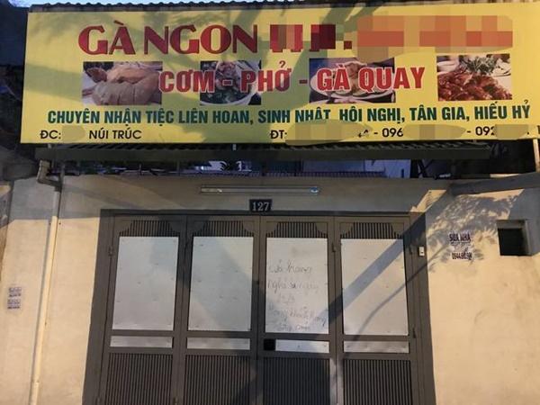 Hà Nội - nơi bệnh nhân 50 nhiễm Covid-19 sinh sống: Nhiều cửa hàng treo biển mong khách thông cảm, nghỉ bán hàng-7