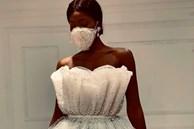 NTK Ai Cập tung combo chống dịch cho các cô dâu: Váy cưới cùng khẩu trang