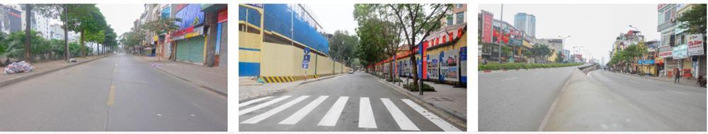 Ảnh: Phố phường Hà Nội vắng như mùng 1 Tết vì dịch Covid-19-3